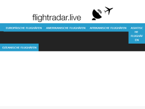 Flight tracker Web Domain Authority Directory