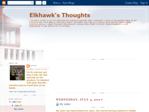 Elkhawk's Thoughts Web Domain Authority Directory