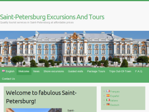 Saint-Petersburg Excursions And Tours Web Domain Authority Directory