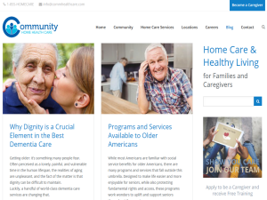 Home Care & Healthy Living Blog : Web Domain Authority Directory