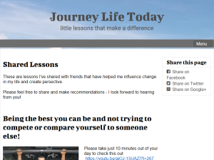 Journey Life Today Web Domain Authority Directory