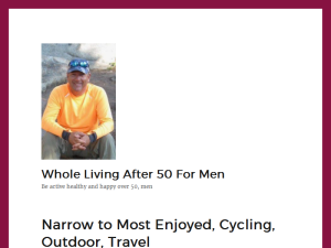 Whole Living after 50 for Men Web Domain Authority Directory