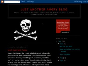 Just Another Angry Blog Web Domain Authority Directory