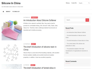 Silicone In China Web Domain Authority Directory