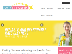 Easy Cleaners Web Domain Authority Directory
