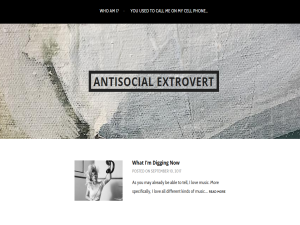 Antisocial Extrovert Web Domain Authority Directory