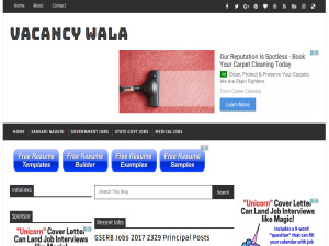 vacancywala Web Domain Authority Directory