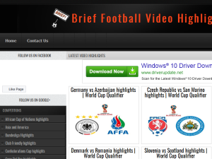 Brief Football Video Highlights Web Domain Authority Directory