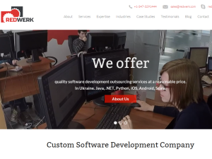 Redwerk software development company blog Web Domain Authority Directory