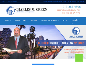 Los Angeles Divorce Lawyer Web Domain Authority Directory