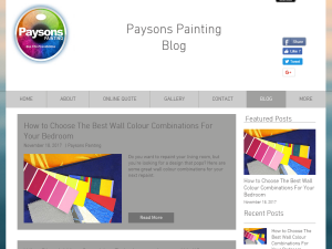 Paysons Painting Blog Web Domain Authority Directory
