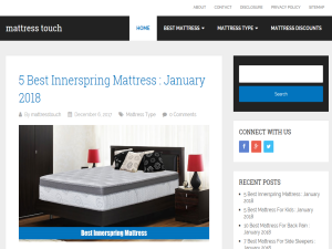 Mattress Touch Web Domain Authority Directory