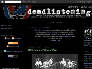 Grateful Dead Listening Guide Web Domain Authority Directory