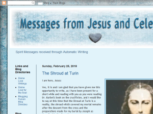 Messages From Jesus and Celestials Web Domain Authority Directory