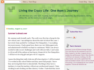 Living the crazy life: One moms Journey Web Domain Authority Directory