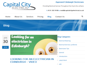 Capital City Electrical Blog Web Domain Authority Directory