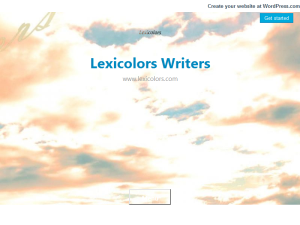 Lexicolors Writers Web Domain Authority Directory
