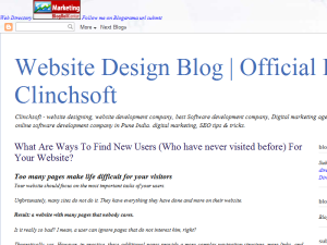 Website Design Blog | Official Blog of - Clinchsoft Web Domain Authority Directory
