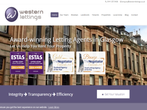Western Lettings - Letting Agents Blog Web Domain Authority Directory