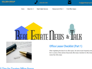 RENT Real Estate News & Talk Web Domain Authority Directory