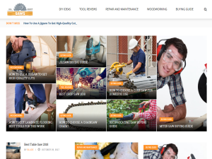 All About Saws : Web Domain Authority Directory