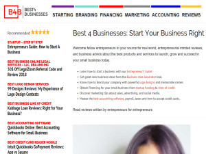 Best 4 Businesses Web Domain Authority Directory