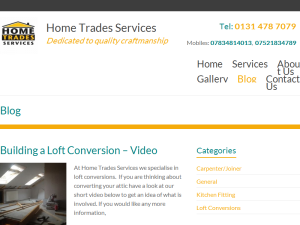 Home Trades Services - Joiners Blog Web Domain Authority Directory