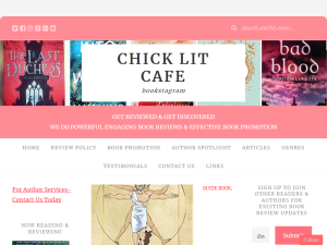 Chick Lit Cafe Author Services Web Domain Authority Directory