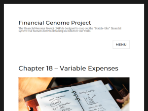 Financial Genome Project Web Domain Authority Directory