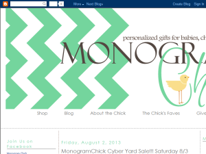 Monogram Chick Web Domain Authority Directory