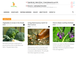 Dreamley: The Gardening Blog for Busy People Web Domain Authority Directory