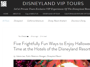 Disneyland VIP Tours | SoCal Private Tours Web Domain Authority Directory