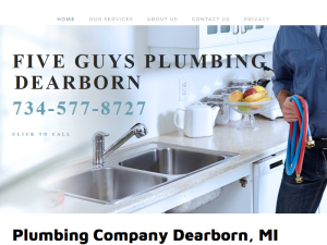 Five Guys Plumbing Dearborn : Web Domain Authority Directory