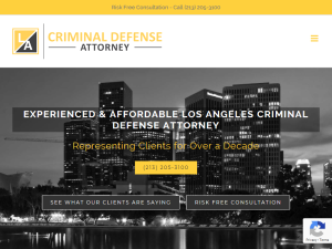 Criminal Defense Attorney Los Angeles Web Domain Authority Directory