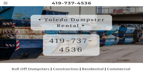 Toledo Dumpster Service Web Domain Authority Directory