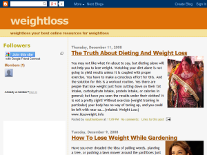 weightloss diet Web Domain Authority Directory