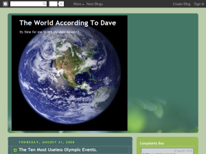 The World According To Dave