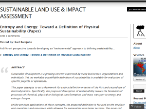 SUSTAINABLE LAND USE & IMPACT ASSESSMENT Web Domain Authority Directory