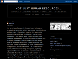 Not just Human Resources... Web Domain Authority Directory