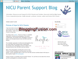 NICU Parent Support Site Web Domain Authority Directory