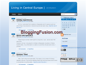 Living in Central Europe blog Web Domain Authority Directory