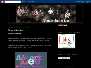 Vintage Sixties Live Web Domain Authority Directory