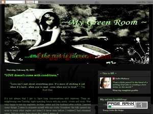 My Green Room Web Domain Authority Directory