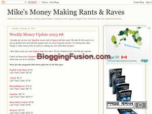 Mike's Money Making Rants & Raves Web Domain Authority Directory