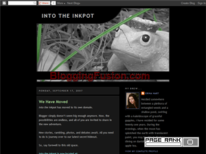 Into the Inkpot Web Domain Authority Directory