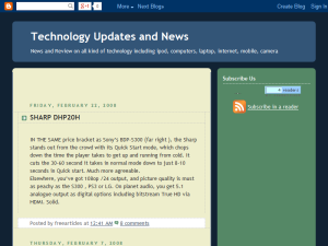Technology Updates and News Web Domain Authority Directory