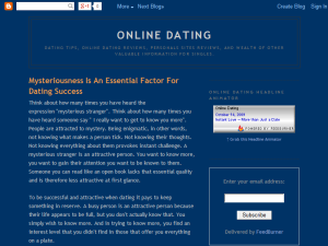 Online Dating Web Domain Authority Directory