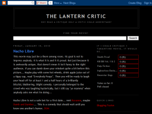 The Lantern Critic Web Domain Authority Directory