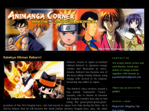 AniManga Corner: Anime / Manga  Series Web Domain Authority Directory