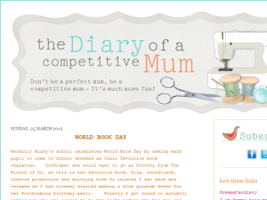 the diary of a Competitive Mum Web Domain Authority Directory